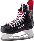 Bauer Herren Complet XPro Skate Feldhockeyschuhe Schwarz-Weiss-Rot-SI 900, 45 EU