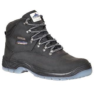 Portwest Unisex Steelite All Weather Boots S3 (FW57) / Work / Footwear (7 UK) (Black)