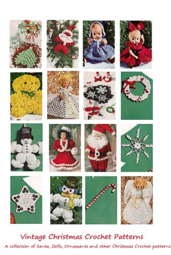 Christmas Crochet Patterns 25 Vintage Christmas Crochet Patterns
