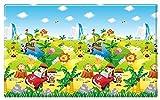 Dwinguler Eco-friendly Kids Play Mat - Safari Tour (Large)