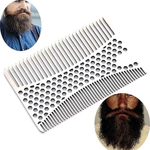 Peine Barba Multifuncional Peine barba Acero inoxidable