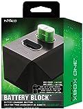 Erweiterbare Doppel-Ladestation für Nyko-Akku-Packs für Xbox One inkl. 1x 1200mAh Akku-Pack, Deutscher Stecker (Battery Block 86142)