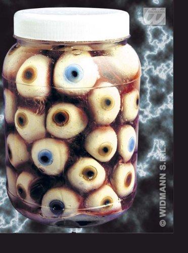 Halloween Deko: Augen, Gehirn, Innereien im Mix jeweils 1* nach Zufall