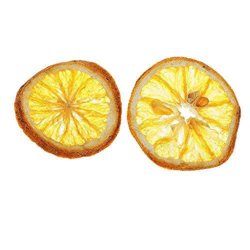 Hellery Getrocknete Gepresste Exopy Frucht Zitronen Scheiben Pflanzen Herbarium Für Harz Casting - Zitrone Natürliche Seife