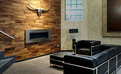 wodewa wandverkleidung holz 3d optik i nussbaum i 1m preisvergleich bei. Black Bedroom Furniture Sets. Home Design Ideas