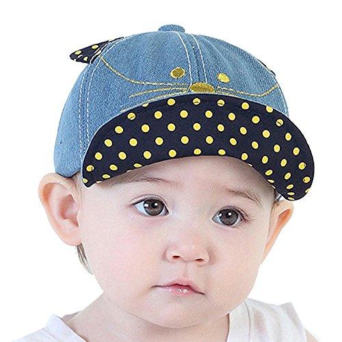 1239a174c67e8 Vovotrade® Cute Infant Newborn Kids Mignon Infantile Nouveau-Né Enfants  Confortable Bongrace Chapeau Peak