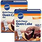 Pillsbury Oven Cake Mix- Moist Supreme Rich Choco - 285g x Pack of 2, 570g