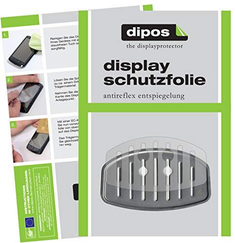dipos 2X Matte Schutzfolie für Krups EA 8150 Tropfblech I Kaffeevollautomaten I Abtropfblech I...
