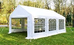 Tente de Réception de Luxe - 4m x 6m - Blanche