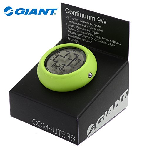 giant-continuum-9w-cycling-wireless-computer-odometer-speedometer-lime-green