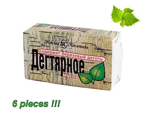 6x Seife Natürliche Seife, Seife Rinde Birke). Von der Spitze an der Spitze, für die ganze Familie. (140g) das Beste Preis im Amazonasgebiet. (Rinde Seife)