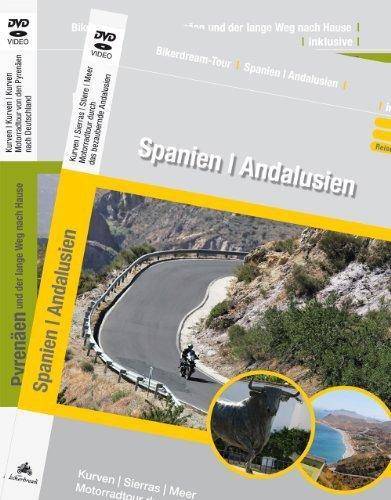 Preisvergleich Produktbild 2er DVD-Set: Motorradtour Andalusien + Motorradtour: Pyrenäen und der lange Weg nach Hause / Video,  GPS-Daten & Reisebericht als PDF