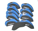 adams golf Iron Covers 10pcs/set black/blue new model