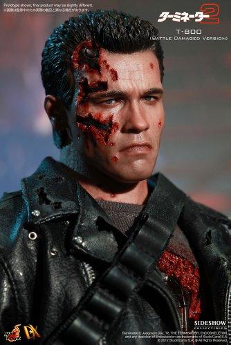 "[Movie Masterpiece DX] ""Terminator 2"" 1/6 scale figure T-800 (Battle Damage version) (second shipment) (japan import) 6"