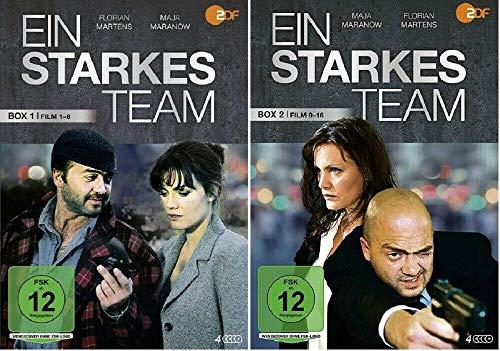 Ein starkes Team Box 1+2 (Filme 1-16) [DVD Set]