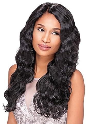 Sensationnel Empress Custom Lace Front Edge Wig - Body Wave (2 - Dark Brn) by Hair Zone