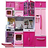 MAGNIFICO Dream House Kitchen Set Kids Luxury Battery Operated Kitchen Super Set Toy With Light And Sound Carry Case 4 Pcs (4 COMPARTMENTS)