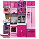 #7: MAGNIFICO Dream House Kitchen Set Kids Luxury Battery Operated Kitchen Super Set Toy with Light and Sound Carry Case 4 Pcs (4 COMPARTMENTS)