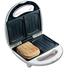 2discos sandwichera con conchas de moldes–Sandwich Tostadora para 2muschelförmige sandwicht de Toast–Nuevo y original)