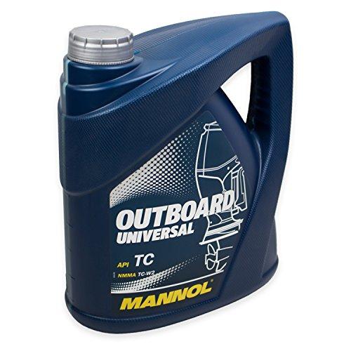 MANNOL Outboard Universal API TC, 4 Liter (Outboard-Öl)