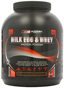 Vyomax Milk and Egg Protein Chocolate Powder 2.5Kg