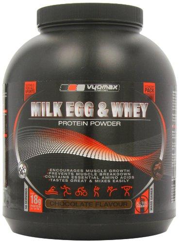 Vyomax Milk Whey and Egg Protein Powder 2.5kg- Chocolat