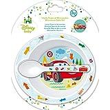 Winnie The Pooh - Set Microondas 2 Piezas Disney Baby Cars rojo