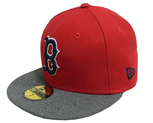 NEW ERA Baseball Cap 59FIFTY Boston Red Sox Jersey Diamond otc Gr. 7 5/8