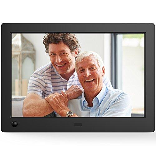 NIX Advance - Marco digital para fotos y vídeos, 8 pulgadas, pantalla ancha de alta resolución, con sensor de movimiento, color negro, X08G