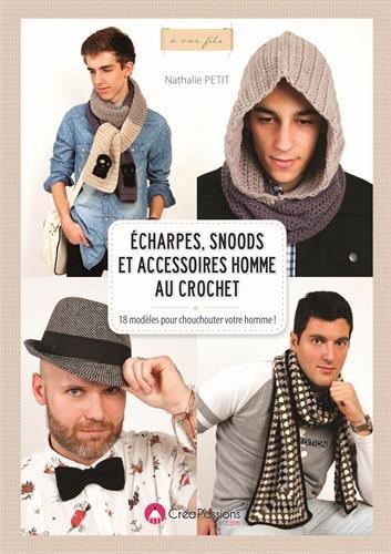 Echarpes, snoods et accessoires homme au crochet