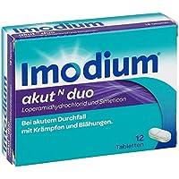 Preisvergleich für Imodium akut N duo, 12 St. Tabletten