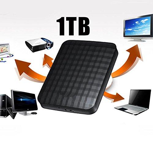 Cewaal Disco duro externo, alta velocidad M32 USB3.0 Disco duro externo seguro de 1TB Disco duro móvil portátil
