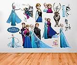 F H Clest &Wandtattoo Frozen Queen Elsa Wandtattoo Adorable &Sweety DIY Fashion Wandtattoo Family