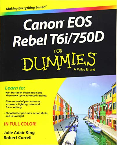 Canon EOS Rebel T6i / 750D For Dummies (For Dummies (Computer/tech)) Canon Shutter