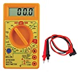 #7: Gadget Hero's Digital Multimeter for Continuity Current & Voltage. With LCD Display.