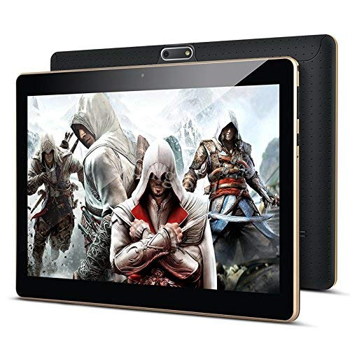 10 Zoll Android Tablet PC PADGENE 32G Speicher 2G RAM 5MP Hinten-2MP Frontkamera Dual-SIM Slots USB/SD IPS HD 1280x800 WiFi/3G/2G Entsperrt Bluetooth GPS Telefonfunktion