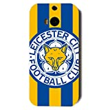 Famous Design FC Leicester City Football Club Phone Case Cover For Htc One M8 3D Plastic Phone Case