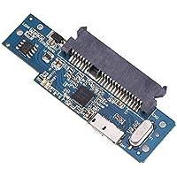 Hillrong - Adaptador de Disco Duro SSD (USB 3.0 a SATA, 22 Pines, 2,5 Pulgadas)