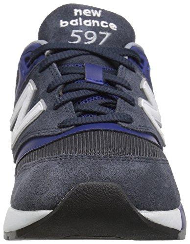 New Balance 597, Scarpe da Ginnastica Basse Uomo Navy/Teal
