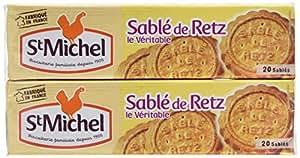 ST MICHEL Sablé de Retz 240 g - Lot de 8