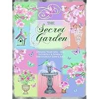 The secret giardino. Fiori, uccellini, acqua Fontana. Pastle colori. Aperto e chiudi insegne. Ideale per (Fiore Fontana Parete)