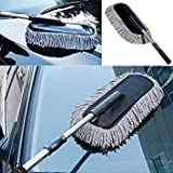 #9: Cherry Microfibe Car Cleaning Wash Brush Dusting Tool ( Color May Be Vary)