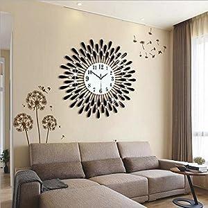 wanduhren modern wohnzimmer deine. Black Bedroom Furniture Sets. Home Design Ideas