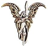Erzengel Michael für Freiheit Aus Vergangenheit Anhänger Halskette - Dornstrauch Engel und Faeries anhänger Kollektion - Mit Swarovski Kristall - Verpacktes Geschenk