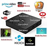 HK1 Mini Pc Android 8.1 2GB/16GB RK3229 Quad Core 2.4G WiFi Mini Pc
