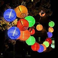 Solaire Lumineuse Lampes, Migimi Lumineuse Solaire 20 LED 5 mètres Intérieure et Patio, Jardin, Fête, Mariage [classe A énergétique +++]