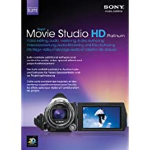 Sony Movie Studio 11 HD Platinum Suite