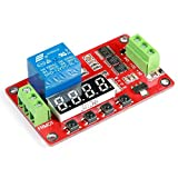 Geree 18 Arten von Funktionen in One DC 12 V Multifunktions PLC Relais Cycle Timer Modul Home Automatisierung Delay Modul