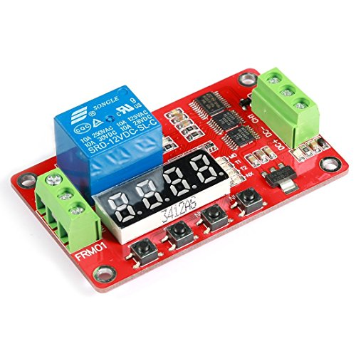 Geree 18 Arten von Funktionen in One DC 12 V Multifunktions PLC Relais Cycle Timer Modul Home Automatisierung Delay Modul (Ac 12v Relais Timer)