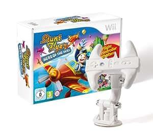 Stunt Flyer - Heroes of the Skies (Bundle inkl. Flight Controller) - [Nintendo Wii]